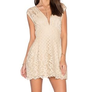 Free people one million lovers lace dress NWT sz 6